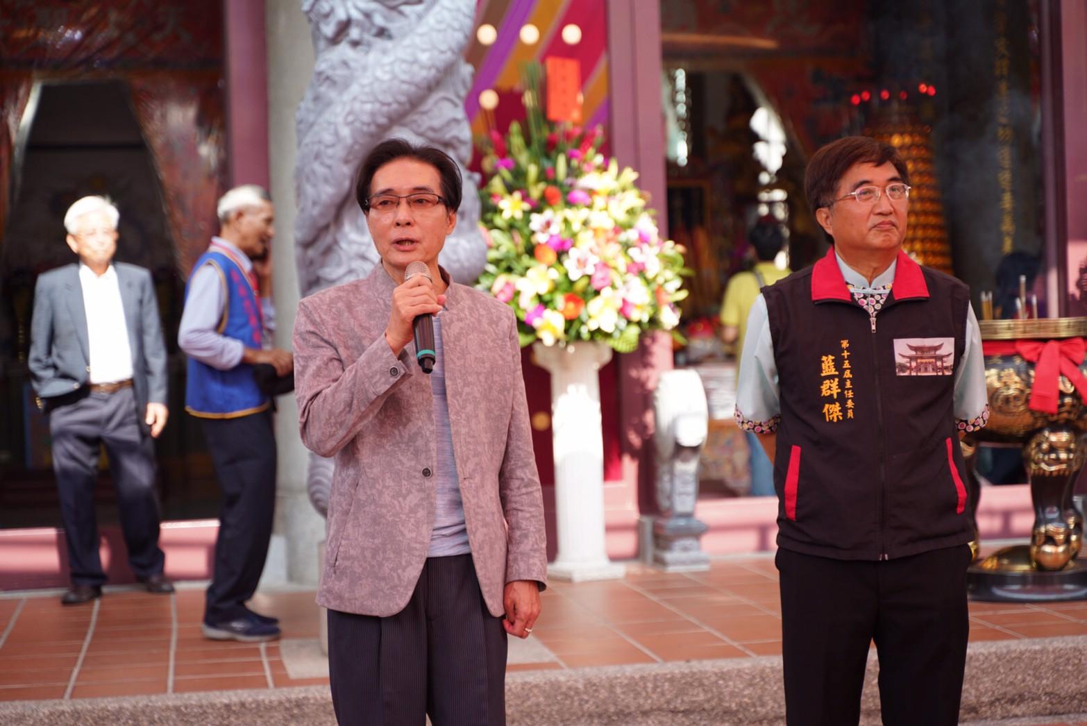 1091129客家委員會副主任委員鍾孔炤代表楊長鎮主委出席六堆忠義祠秋祭大點並致詞。
